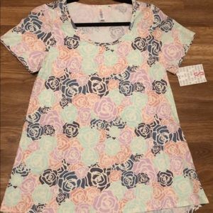 Small LuLaRoe Floral Classic T